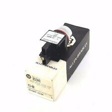 NIB ALLEN BRADLEY 800MR-A2AK SER. C PUSH BUTTON BLACK CAP FLUSH HEAD, 800MRA2AK