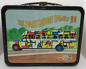 THE PARTRIDGE FAMILY Vintage Metal LUNCH BOX 1970s  No Thermos