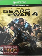 Gears of War 4: Ultimate Edition Microsoft Xbox One Exclusive Brand New SEALED