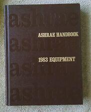 1983 Ashrae Handbook Equipment Hvac Heating cooling ventilation Nf/Vg+