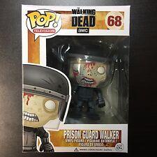 Funko POP The Walking Dead #98 Prison Guard Walker VAULTED *NOT MINT BOX 7/10*