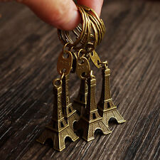 10X Retro Eiffel Tower Key Chain Ring Keyfob Purse Bag Pendant Keyrings Keychain