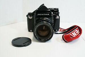 (S) Pentax 67 Medium Format Camera w/ Takumar 6x7 Lens