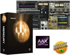 WAVES MERCURY V9, SSL 4000, For Pro tools HD 12 AAX Cubase, READ DESCRIPTION!!!