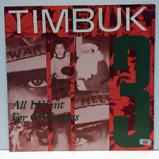 "TIMBUK 3 - All I Want for Christmas is World Peace 12"" Import Holiday Vinyl IRS"