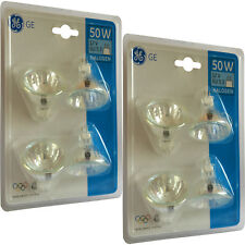 8 Dimmable GE Start 50 W MR16 GU5.3 12 V ampoules halogènes spot 2000 HR 36 ° Beam