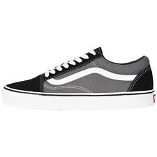 Mens Vans Old Skool Fashion Sneakers Black Pewter Suede Canvas All SZ NEW d0ea000f3497d