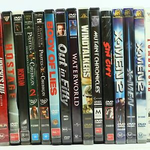 Action Adventure Thriller Movie DVD Collection Bulk Discounts Free Tracked Post