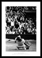 Bjorn Borg 5th Men's Singles Title Wimbledon Tennis Photo Memorabilia