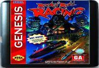 Rock n' Roll Racing (1993) 16 Bit Game Card For Sega Genesis / Mega Drive System