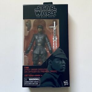 FINN FIRST ORDER DISGUISE Star Wars The Black Series #51 The Last Jedi 2017 MIB!