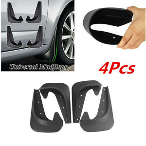 4×Mud Flaps EVA Plastic Splash Guards Fender Universal Car Protect Accessories
