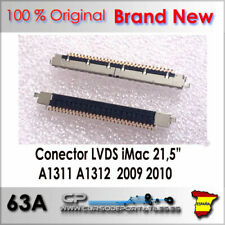 Conector LCD LVDS 30 pines iMac 21.5 27 A1311 A1312 Año 2009 2010 Brand New
