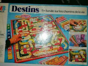 DESTINS.Jeux de Société vintage 1978 COMPLET Le jeu de la vie