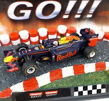 Carrera Go 64095 red bull racing rb12 daniel Riccardo no 3 hipódromo auto miniatura
