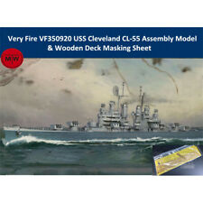 Very Fire VF350920 1/350 USS Cleveland Assembly Model &Wooden Deck Masking Sheet