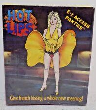 Vintage 1995 Pipedreams Novelty Hot Lips E-Z Access Panties Rare
