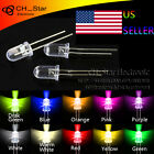 10colors 200pcs 5mm Led Diodes Water Clear Red Green Blue Yellow White Mix Kits
