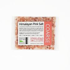 ORGANIC PINK HIMALAYAN ROCK SALT | 100G | COARSE | Natural Food Grade Table Salt