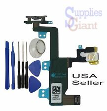 """Power Switch On Off Button Flash Flex Cable Ribbon for iPhone 6 4.7"""" A1549 Tools"""