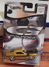 Hot Wheels 2006 G Machines '68 Mustang Fastback Metal Flake Gold Wire Hub Wheels