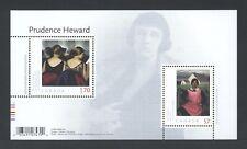 CANADA SOUVENIR SHEET SS 2396 ART CANADA: PRUDENCE HEWARD