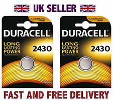 * Più Conveniente * 2 x DURACELL CR2430 3V Litio batteria bottone DL1632 DL2430 Fast