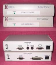 NEW Avocent Cybex LongView 200 VGA KVM Switch Transmitter Receiver Extender