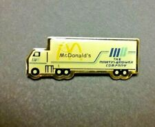 Mcdonalds Martin Brower Company Truck Lapel Pin 18 wheeler