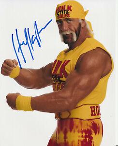 HULK HOGAN signed 8x10 Photo Autograph COA WWF WWE WCW NWO wrestling