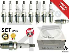 8 Pc Spark Plugs Ngk Double Laser Platinum 12120037607 for E39-E46-M54 3199 Oem (Fits: Bentley)