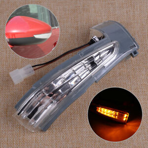 Right Fit For Peugeot 508 Citroen C4 DS5 Door Wing Mirror Turn Signal Light Bulb