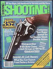 Vintage Magazine SHOOTING TIMES, January 1979 ! ASTRA .357 Magnum DA REVOLVER !