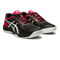 Asics Mens Upcourt 4 Indoor Court Shoes Black Sports Squash Netball Handball