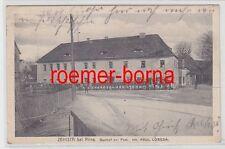 76292 Feldpost Ak Zehista bei Pirna Gasthof zur Post 1915