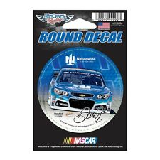"""Dale Earnhardt Jr 2015 Wincraft #88 Nationwide Insurance Round Decal 3"""" FREE"""