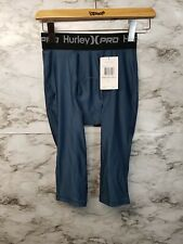 Hurley Pro Comp 23 Compression Shorts Water Sports Surfing - Mens Small #P