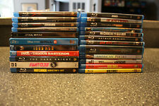 Blu Ray Movie Lot of 23 Classics Mint (Blade Runner, 2001, Fight Club and More)