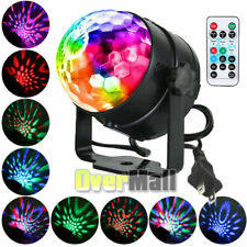 LED Stage Ball Night Light Projector Ocean Sky Xmas Party Birthday Lamp+Remote
