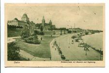 uralte AK Stettin Hakenterrasse mit Museum und Regierung 1923 Szczecin //59