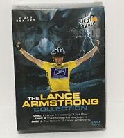 The Lance Armstrong Collection 3-Dvd Box Set  New & Sealed