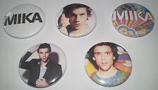 5 Mika pin badges 25mm Life in Cartoon Motion Grace Kelly