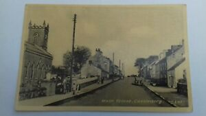 vintage real photo postcard Main Street Castledawson Co Derry  by Butlers