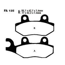 Bremsbeläge hinten CAN-AM Commander 1000 XT EFI 11-14 EBC Bremsklotz FA135R