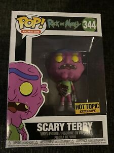 Scary Terry Rick and morty #344 Funko pop! vinyl RARE EXCLUSIVE hot topic