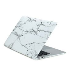 """White Marble Rubberized Hard Case for MacBook Air 11"""" Model: A1370 and A1465"""