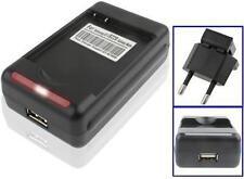 CARICA BATTERIA PER PILA SAMSUNG GALAXY S5 SM-G900F DESKTOP USB 220V BASETTA