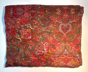 Ralph Lauren Galahad Full/Queen Comforter Cover Paisley Aragon Guinevere 85x90