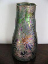 Clément Massier - Vase céramique irisée - Vallauris - Art Nouveau - 1900 -