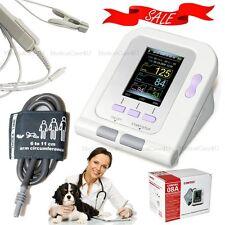 Veterinaria Digital monitor de presión arterial SpO2 sonda / NIBP Cuff / Pulso